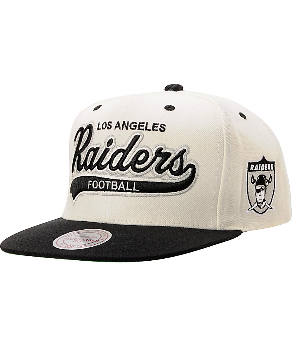 ba59b4d5 NFL Mitchell & Ness Oakland Raiders Tailsweeper Snapback Hat | Zumiez