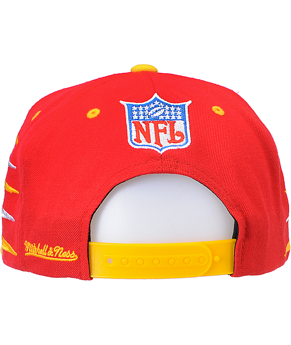 size 40 6ffdf 66e3a NFL Mitchell and Ness Kansas City Chiefs Diamond Snapback ...