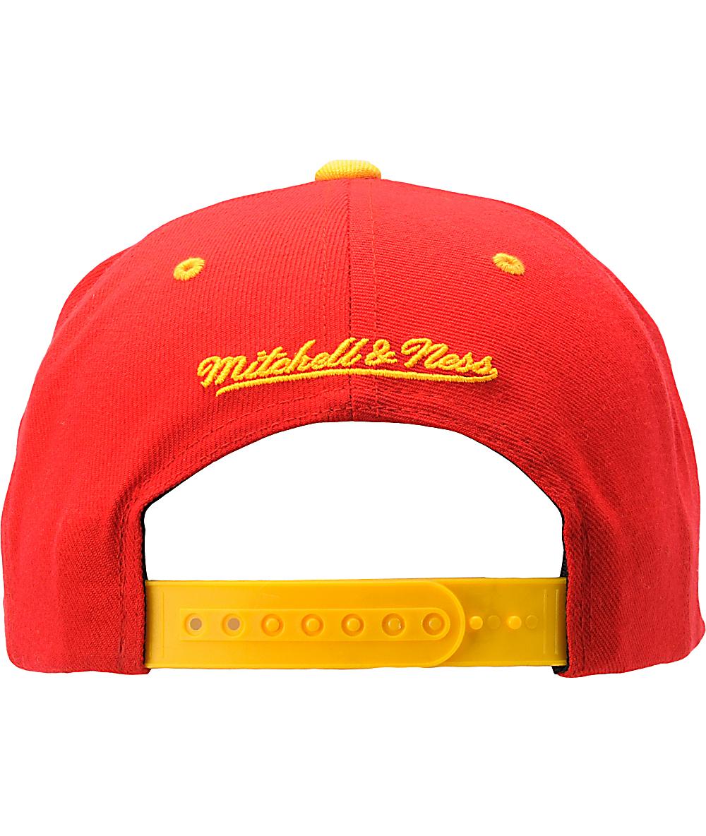 check out c9bca d6116 NFL Mitchell and Ness Kansas City Chiefs Snapback Hat | Zumiez