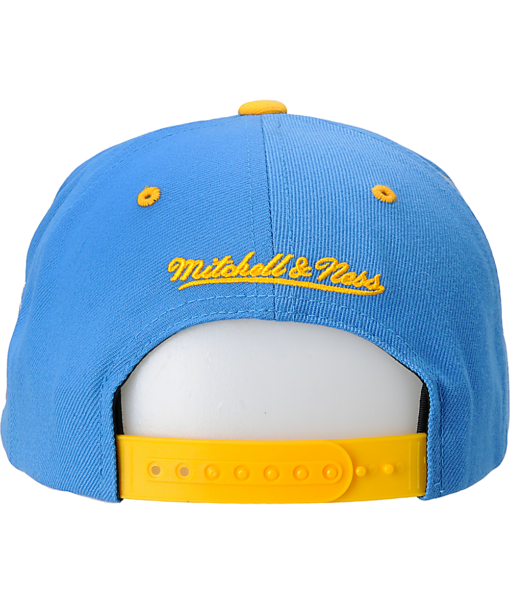 9bb1846563fa00 NFL Mitchell and Ness San Diego Chargers Blue Snapback Hat | Zumiez