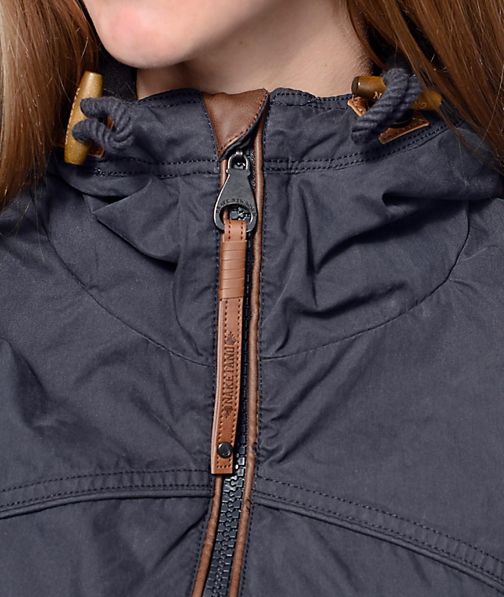 Naketano Pallaverolle Dark Blue Jacket