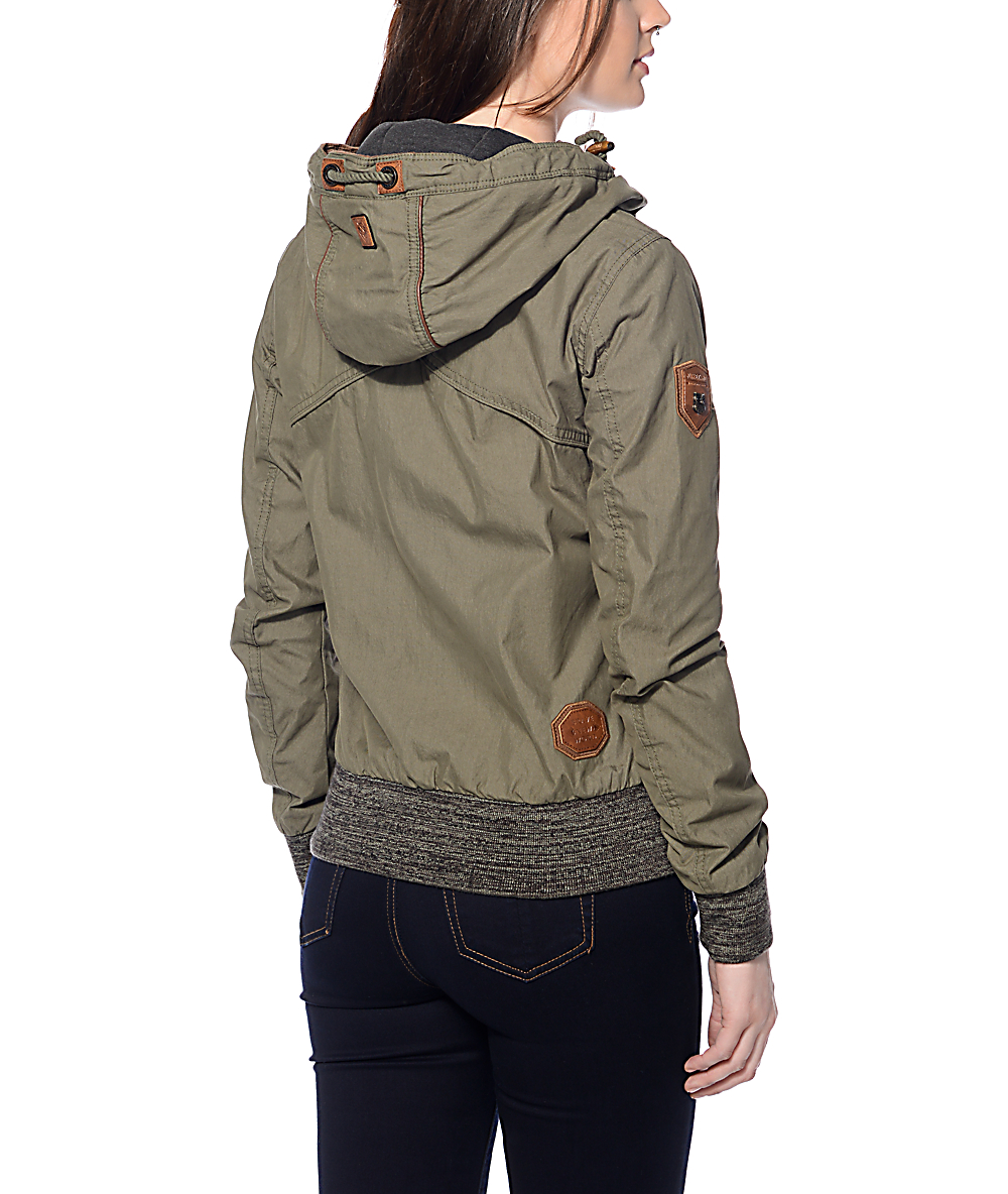 35b9810d28 Naketano Pallaverolle Olive Jacket