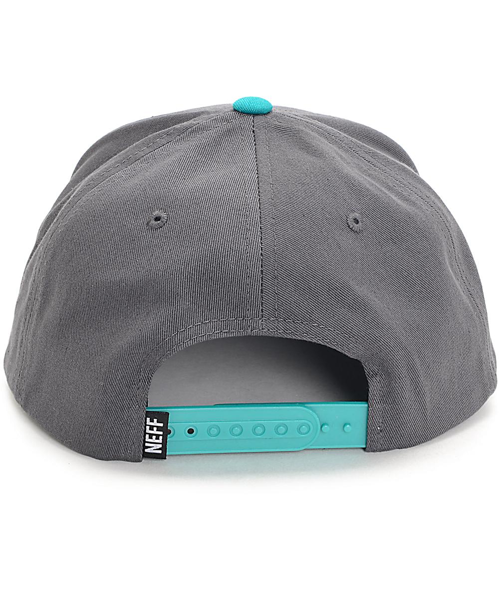 d8591809e Neff X Cap Dark Teal Snapback Hat