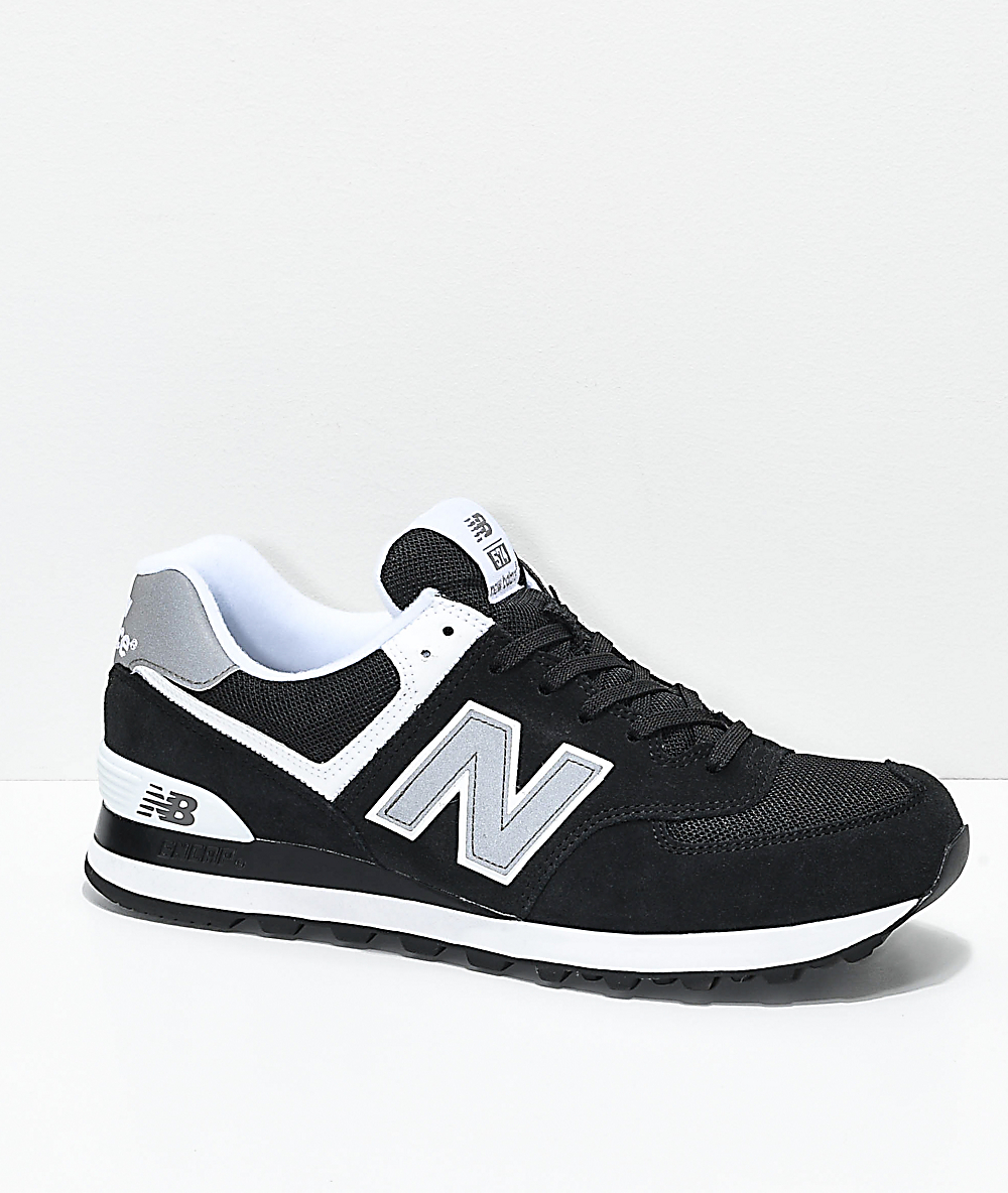 new balance 574 us black