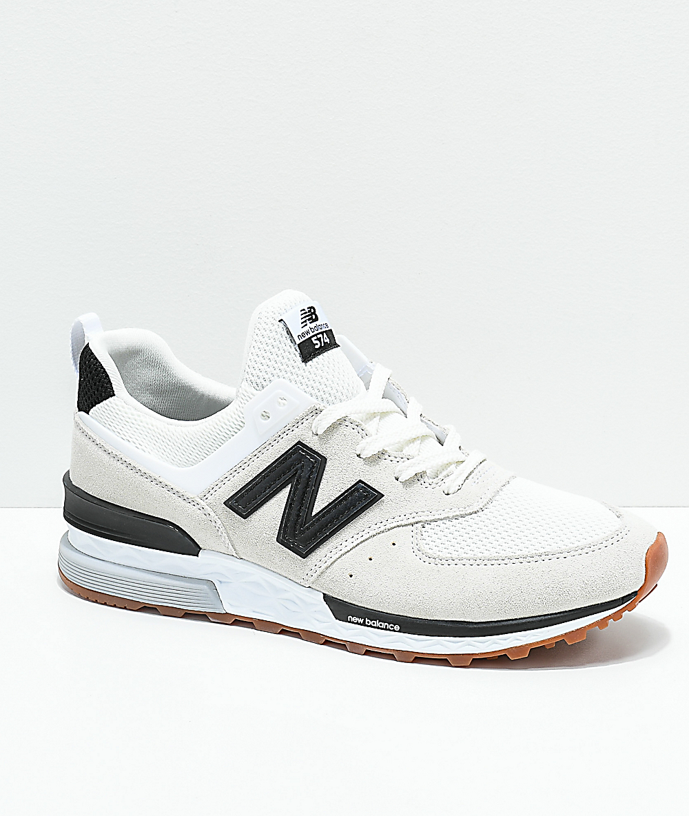 1d4e0c26ed New Balance Lifestyle 574 Sport Nimbus Cloud & Black Shoes
