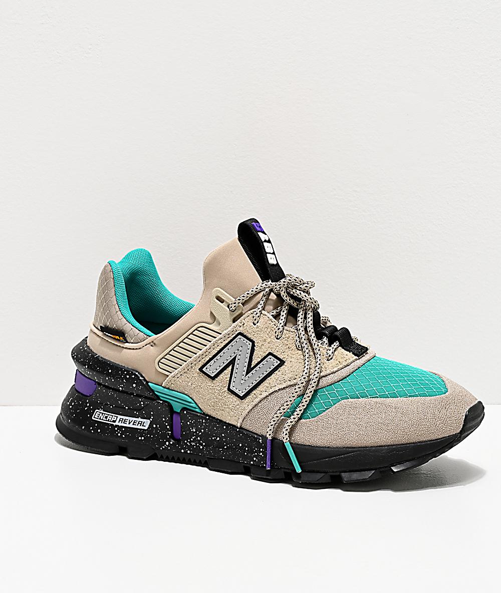 New Balance Lifestyle 997 Sport Stoneware & Verdite zapatos