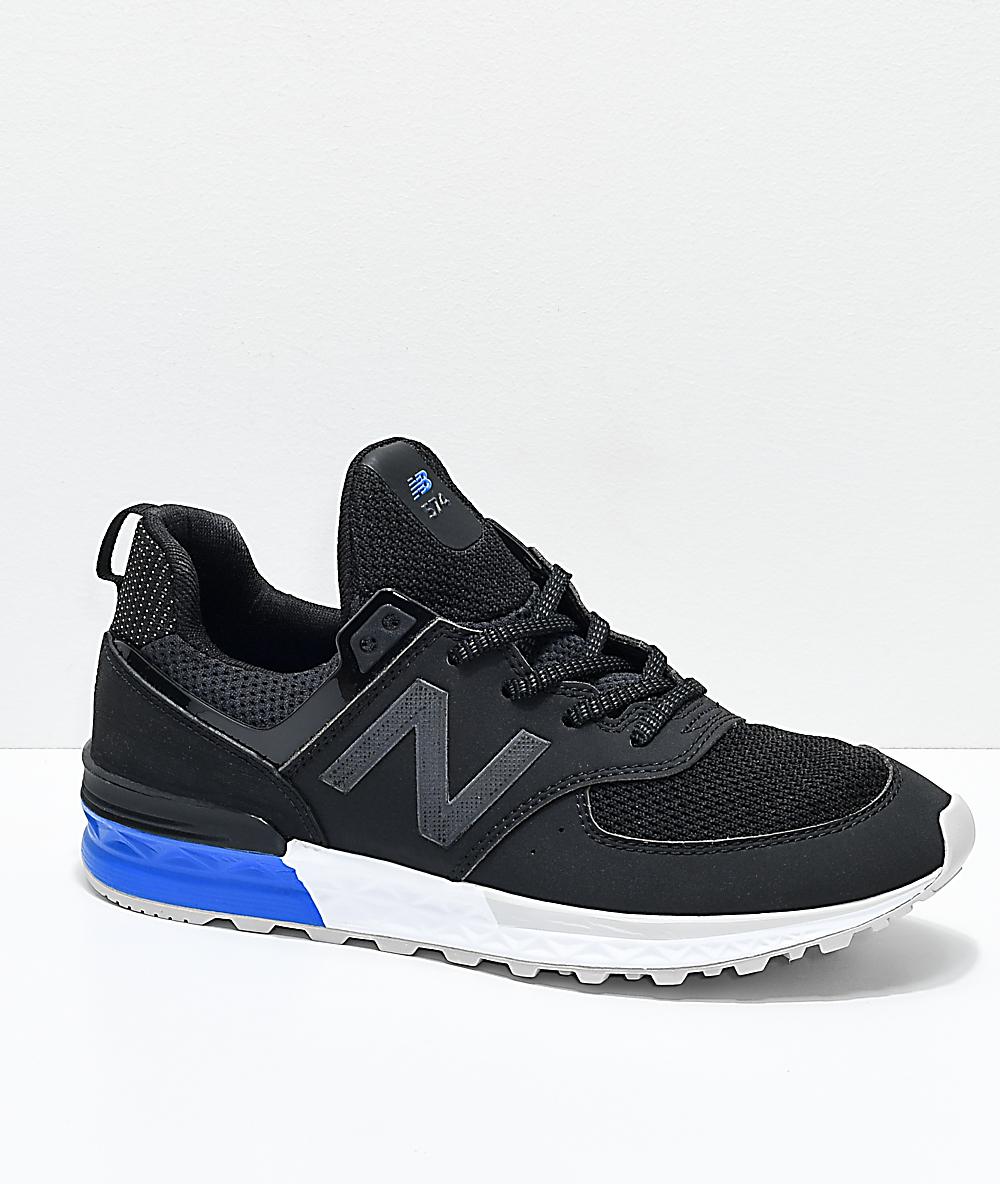 Balance New Sport Kids BlackWhiteamp; ShoesZumiez Blue 574 Lifestyle y7fbg6