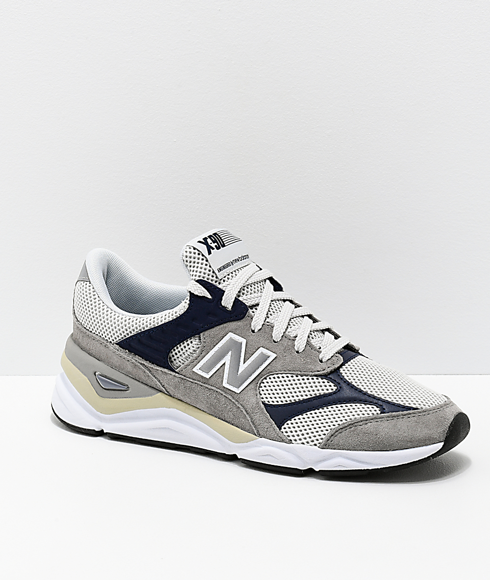 c9641a7766 New Balance Lifestyle X90 Reconstructed Marblehead & Pigment Blue Shoes