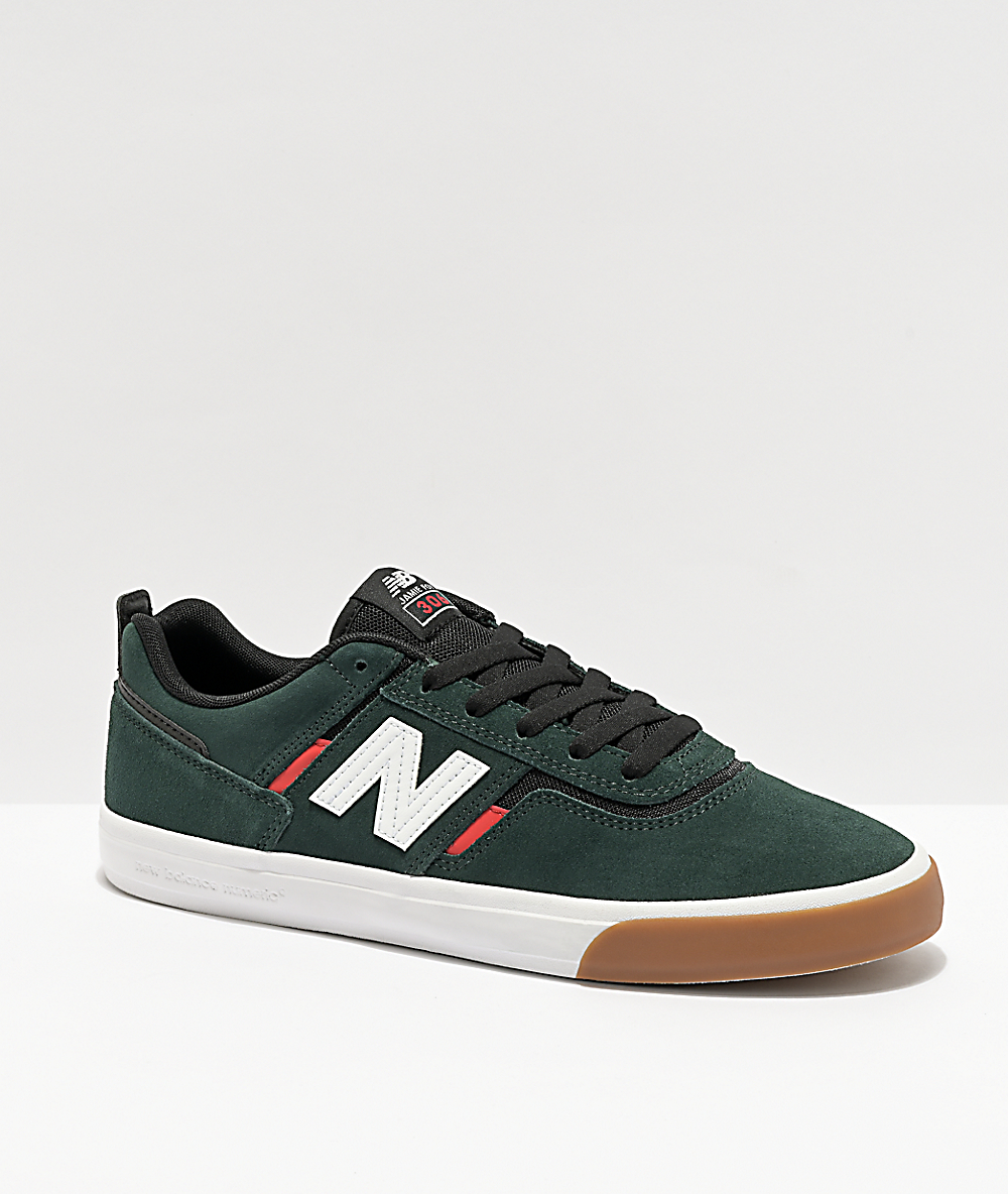 red and green new balance