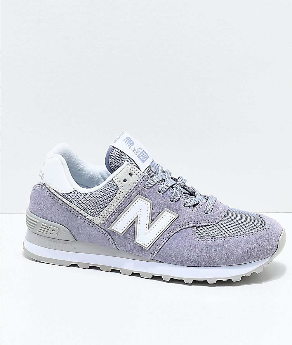 new product 7f685 a57e6 New Balance Numeric 574 Daybreak   Overcast Shoes   Zumiez