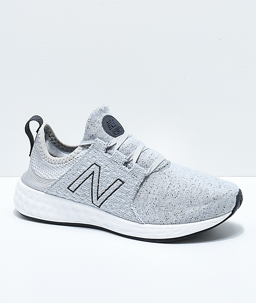 14a6d10905282 New Balance Numeric Fresh Foam Cruz Silver Mink Shoes | Zumiez