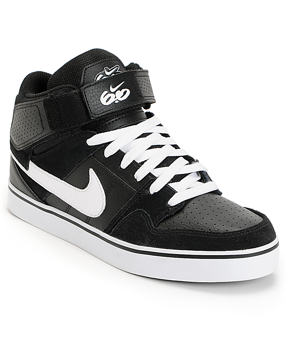 Nike 6.0 Air Mogan Mid 2 SE Black & White Shoes