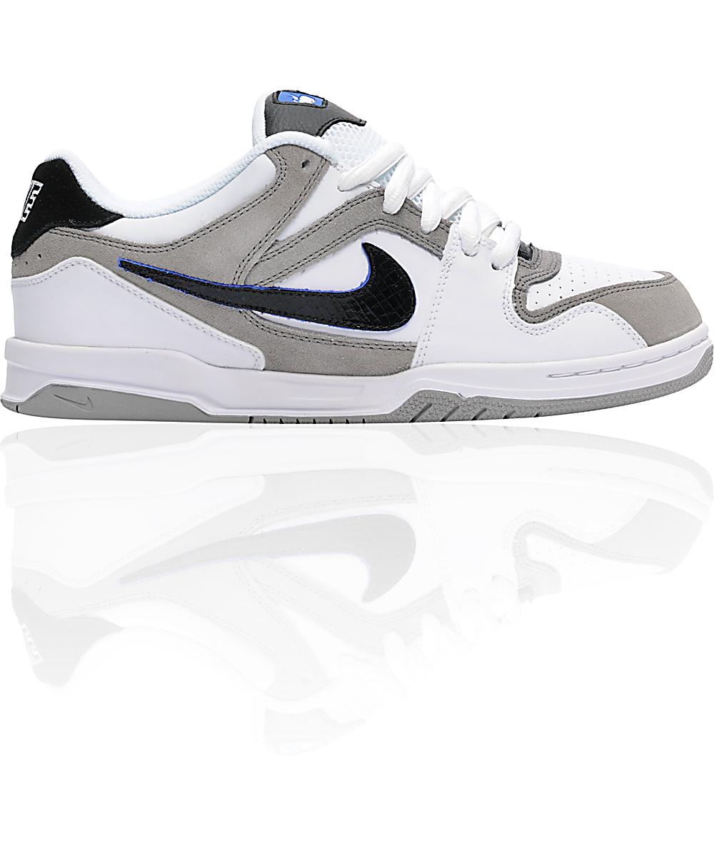 6 0 Oncore Zoom ShoesZumiez WhiteBlackamp; Nike Medium Grey XiukTOZP