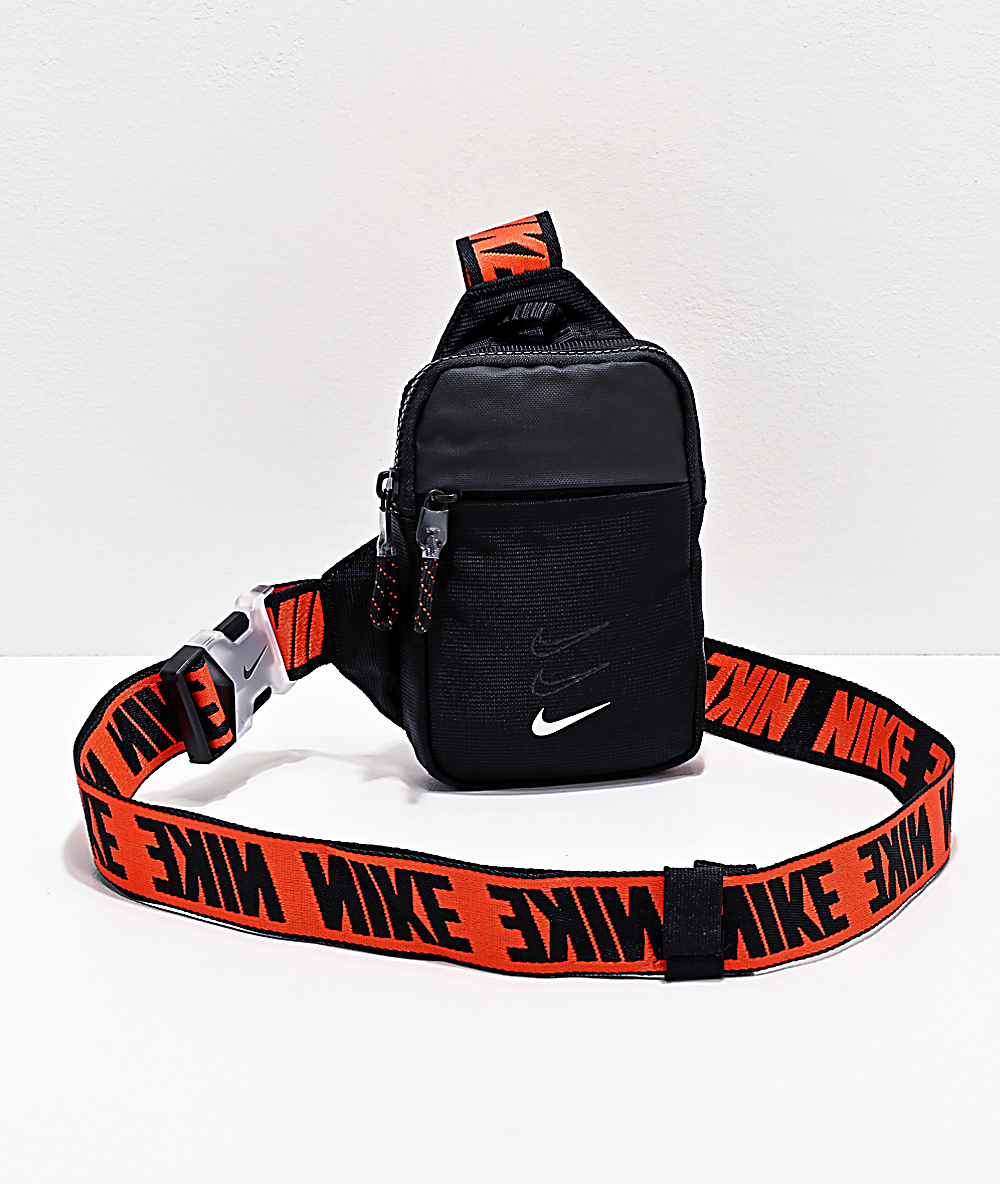 Nike Essentials Black Shoulder Bag Zumiez