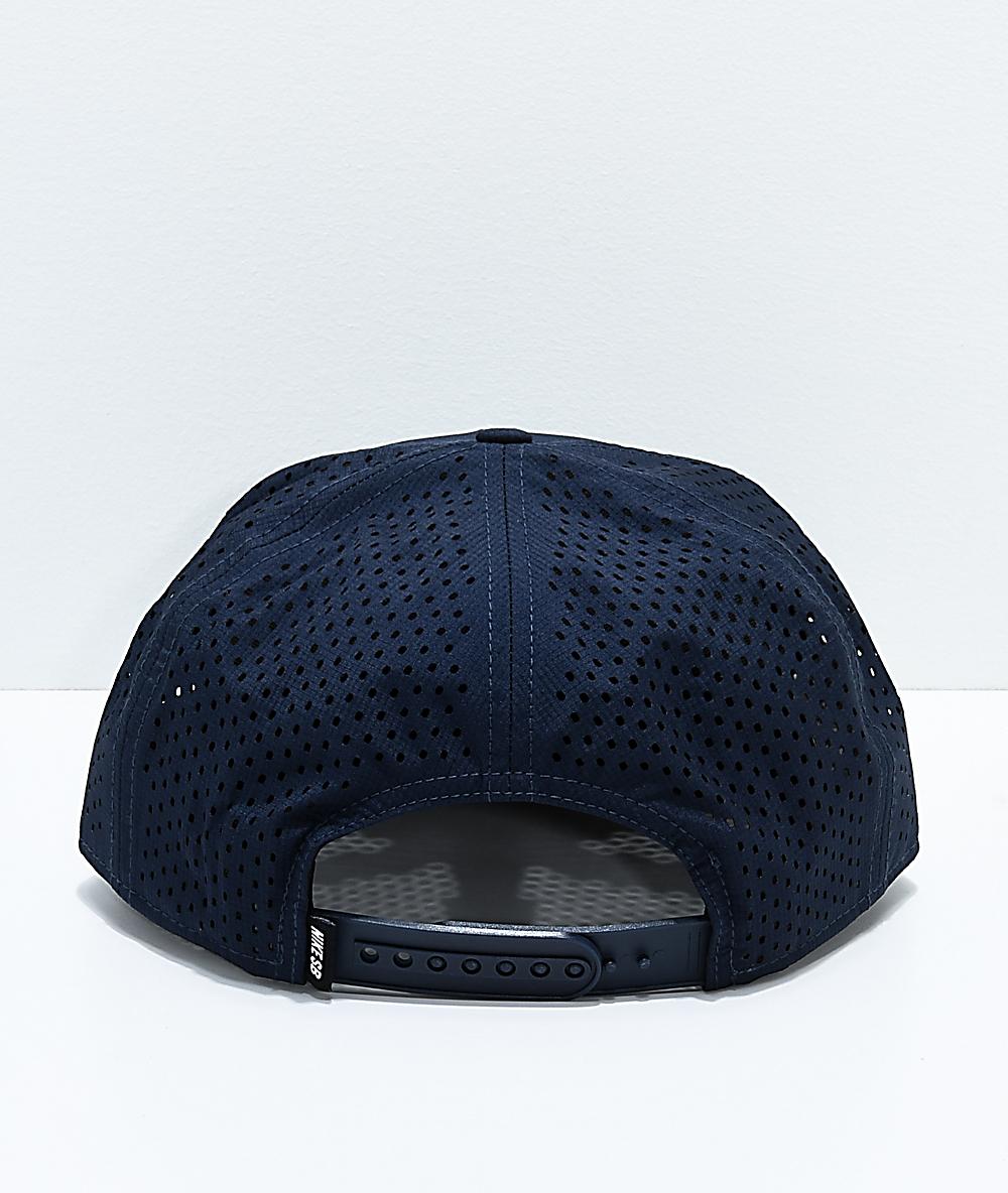 best sneakers 4e495 8fd1a Nike SB Aero Pro Team Obsidian Snapback Hat   Zumiez