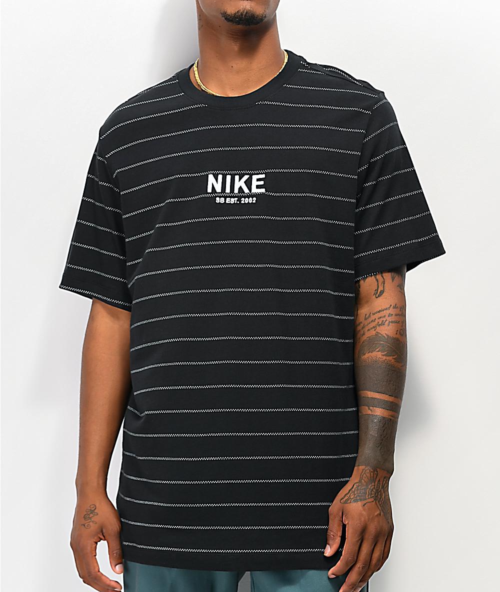 a nike shirt