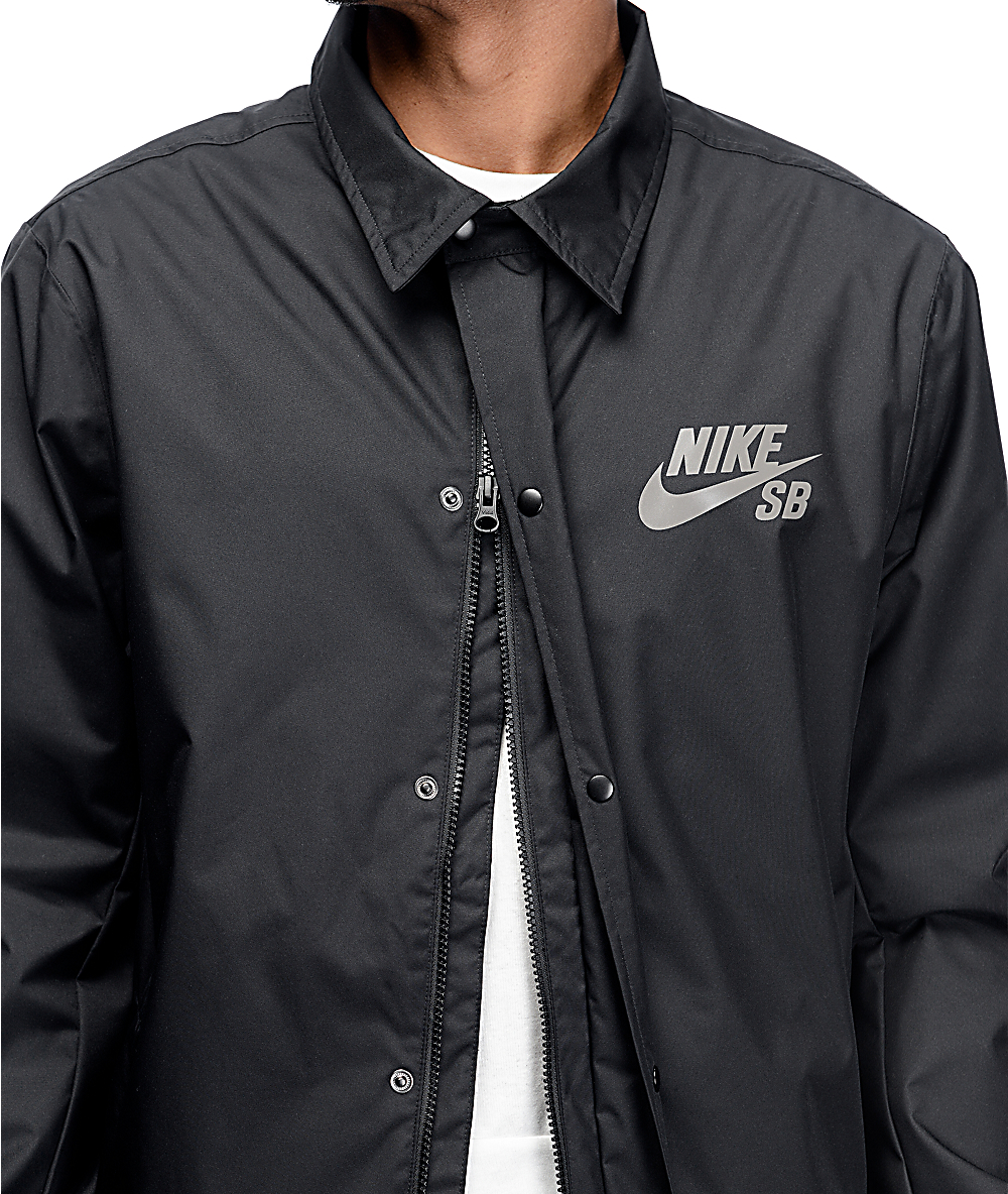 Nike SB Assistant Coaches Black Jacket