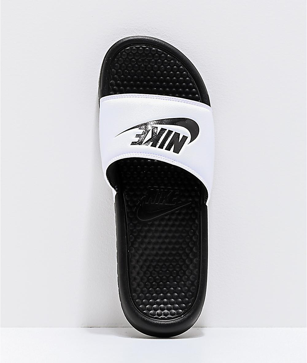Blancas Y Nike Sandalias Negras Benassi Sb UMGLVqSzjp