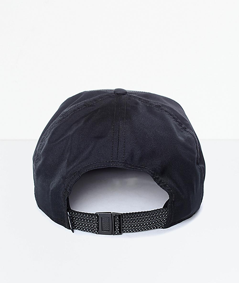 3f8345ad4 Nike SB Black Dri-Fit Unstructured Strapback Hat