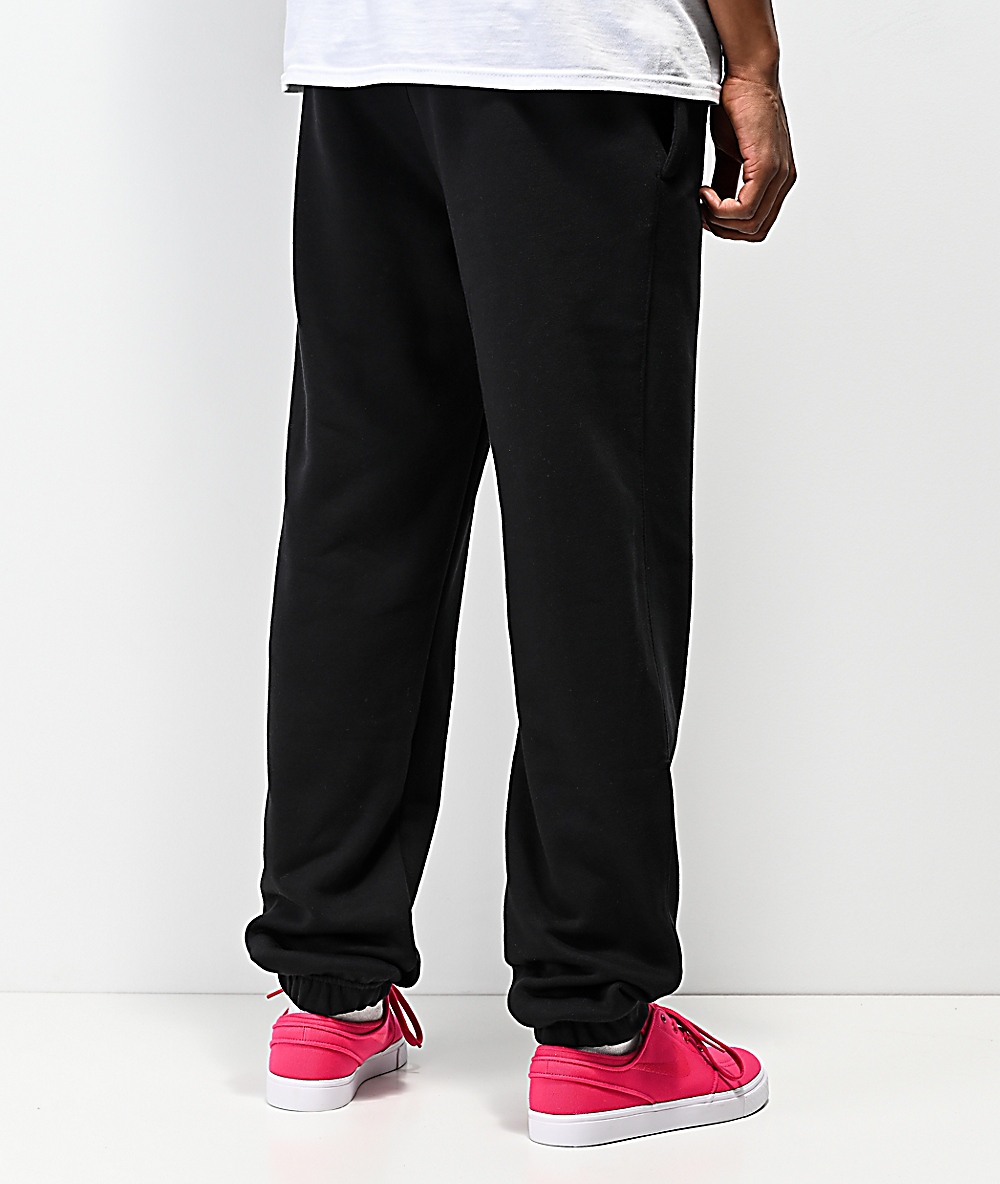 unique design best sell recognized brands Nike SB Icon Black Jogger Pants