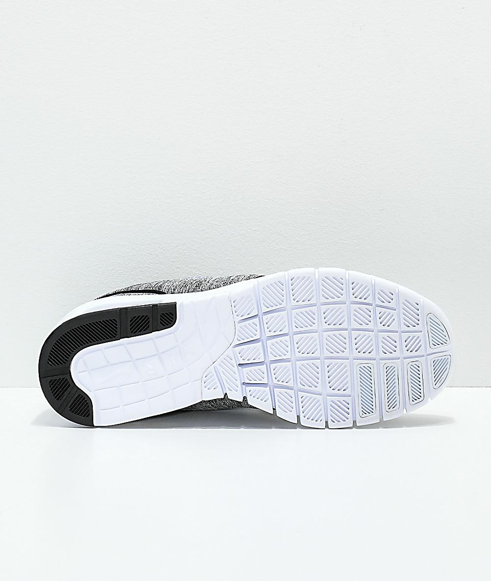 Nike SB Kids Janoski Max Heather Grey Skate Shoes