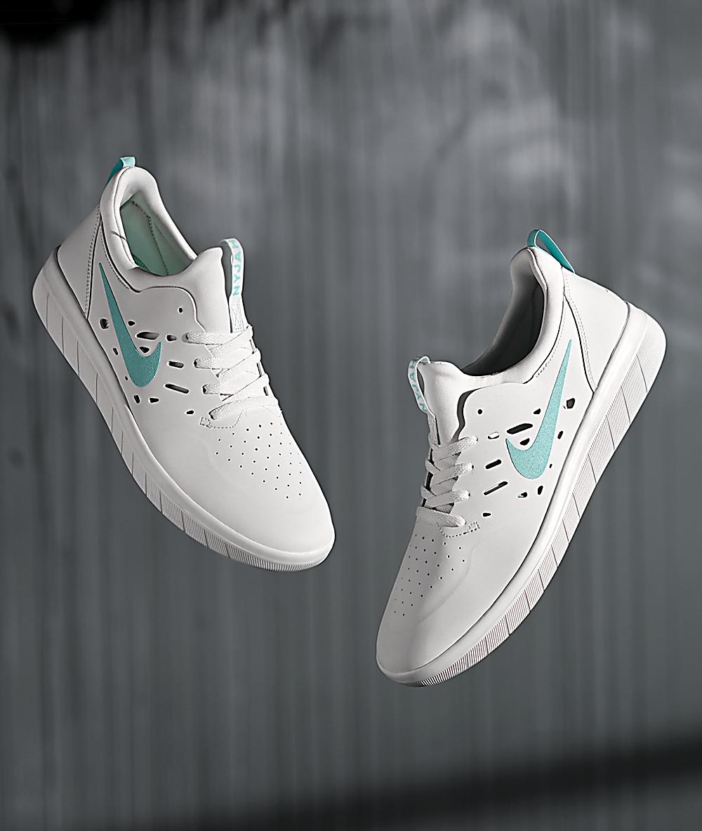 NIKE SB Sneaker NYJAH FREE Weiss