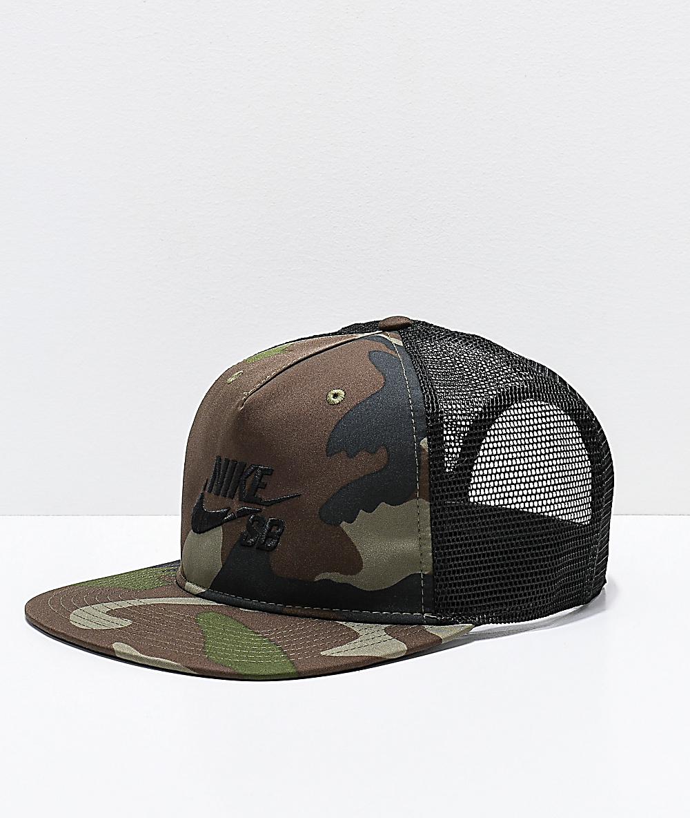 d8ea11f5d Nike SB Pro Camo Trucker Hat