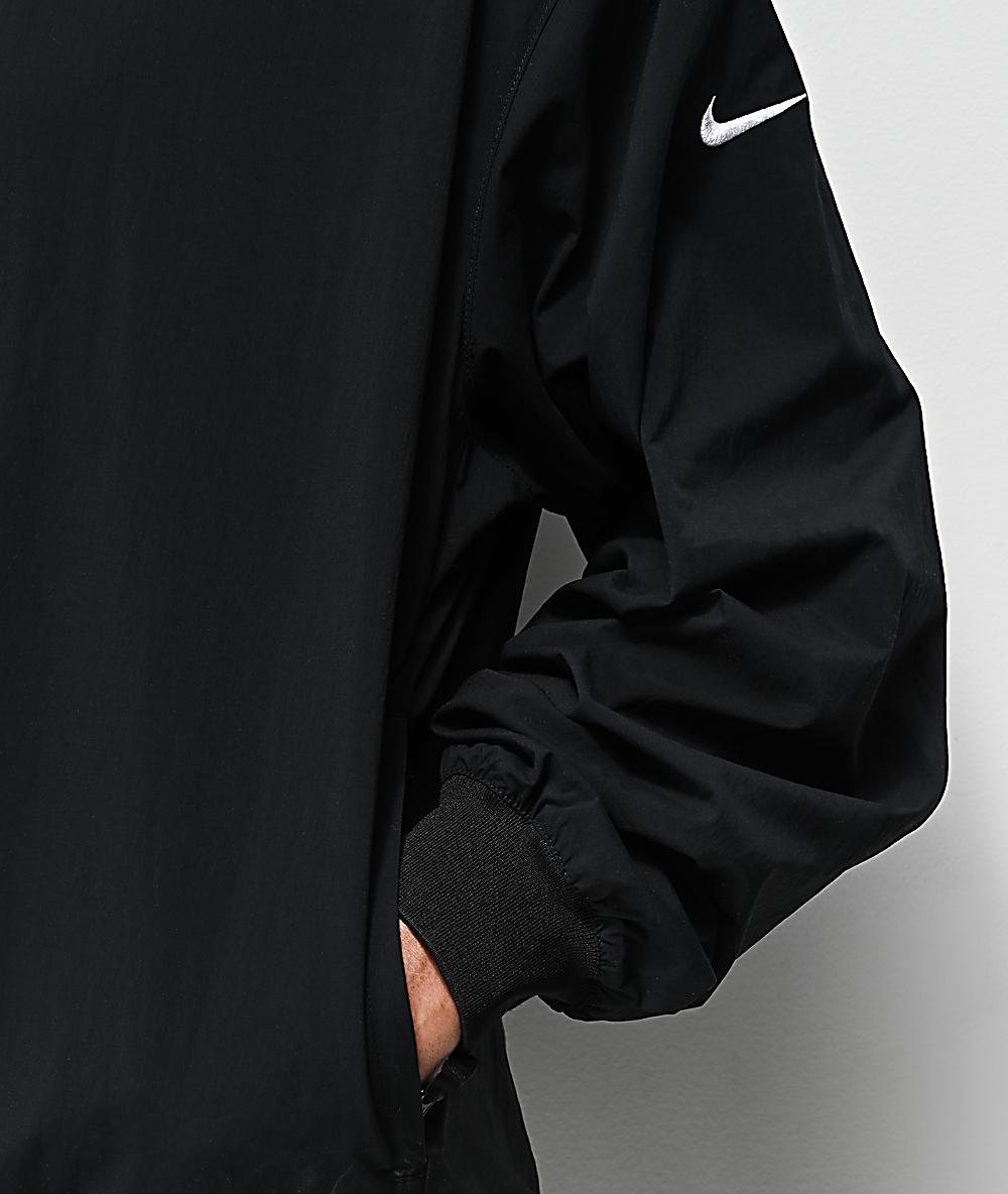 Nike SB Top Black Windbreaker Jacket