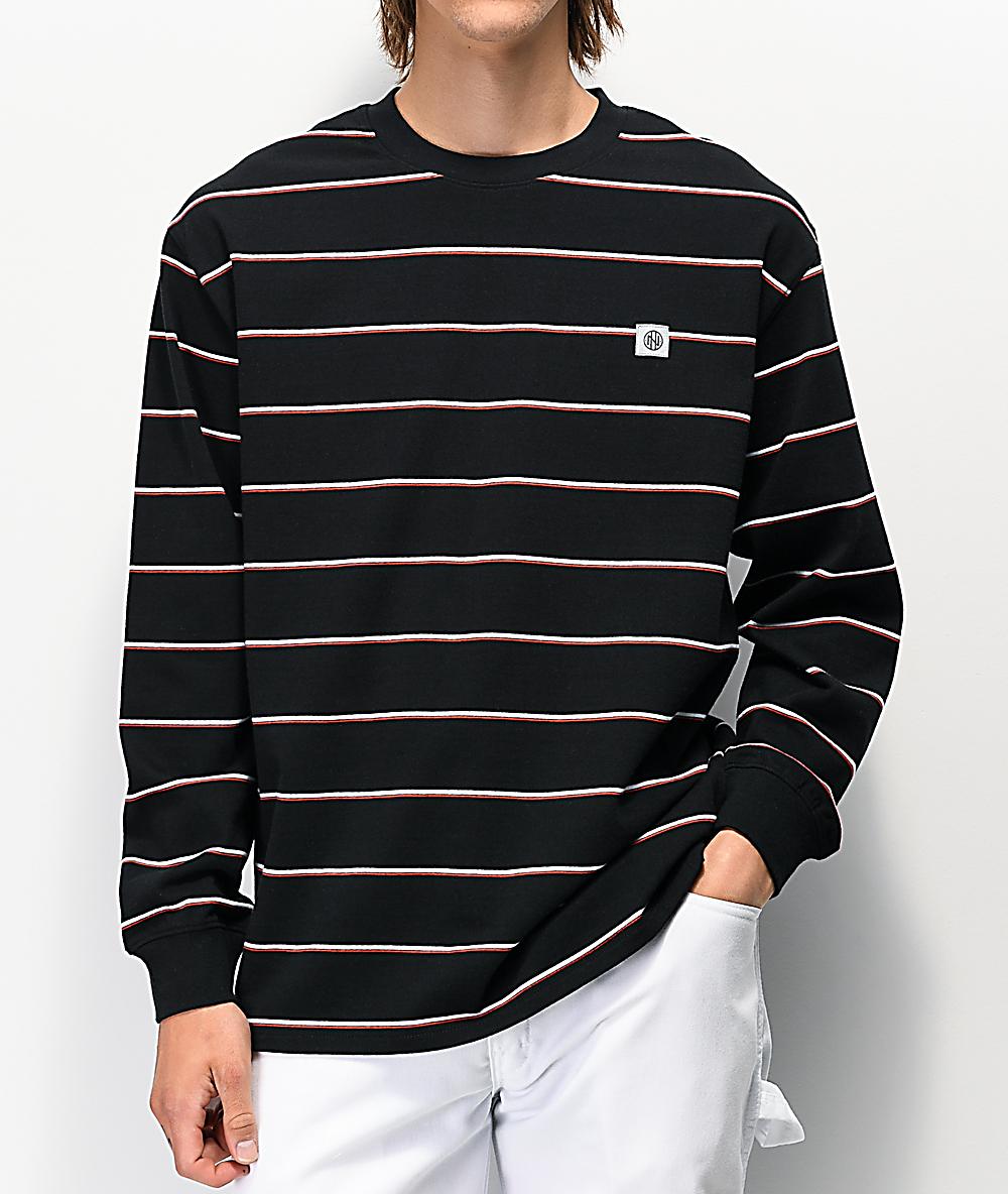 Replay Round Neck Chest Pocket Black T-Shirt