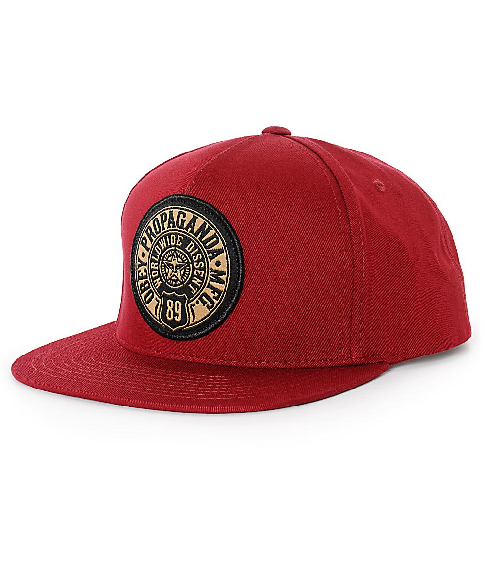 4dfa79865f28be Obey 89 Snapback Hat | Zumiez