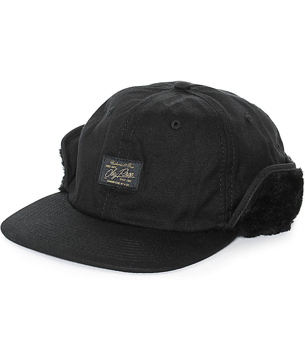 57dbd5881 Obey Essex Ear Flap Hat