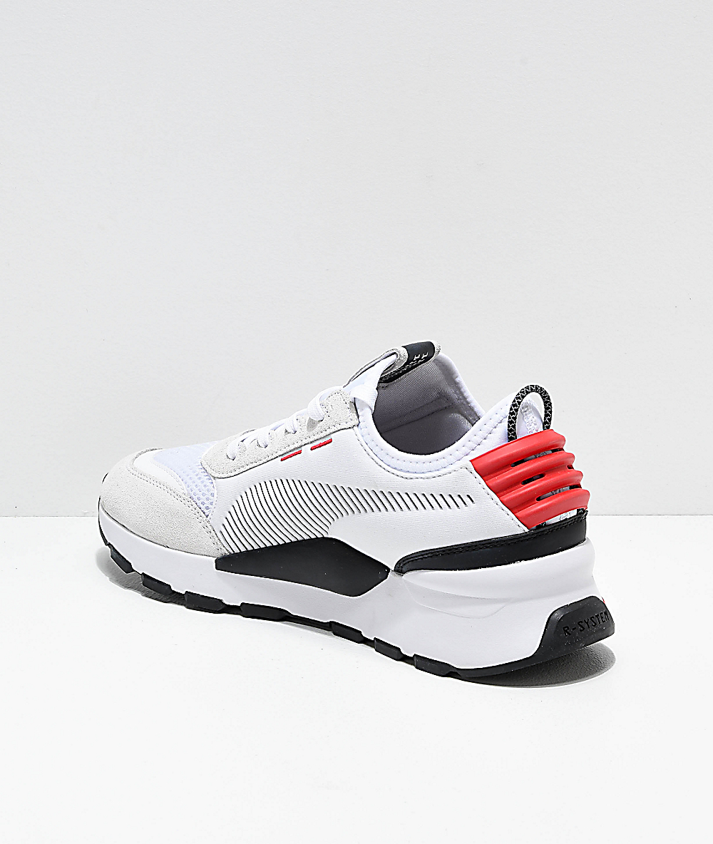 d6bf57c988 PUMA RS-O Winter INJ Toys White & Red Shoes | Zumiez