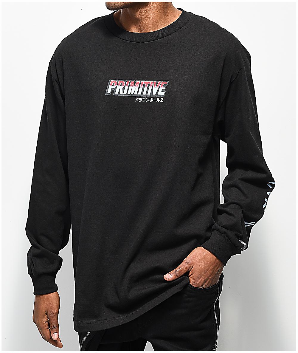 95968e63 Primitive x Dragon Ball Z Broly Black Long Sleeve T-Shirt | Zumiez