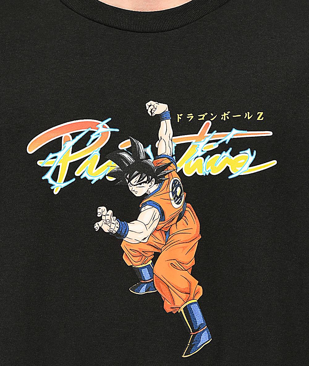 45beda81 Primitive x Dragon Ball Z Nuevo Goku Black T-Shirt | Zumiez