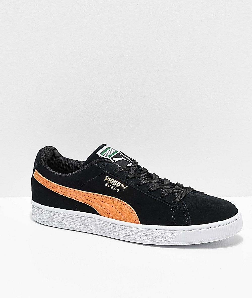 Puma Suede Classic sneakers in orange