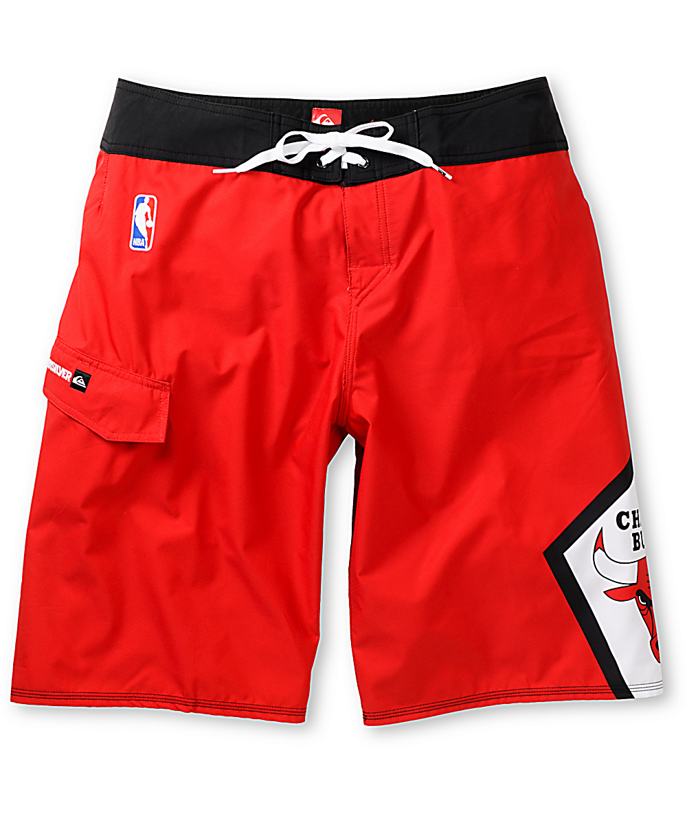 Quiksilver Bulls NBA Red 22 Board Shorts