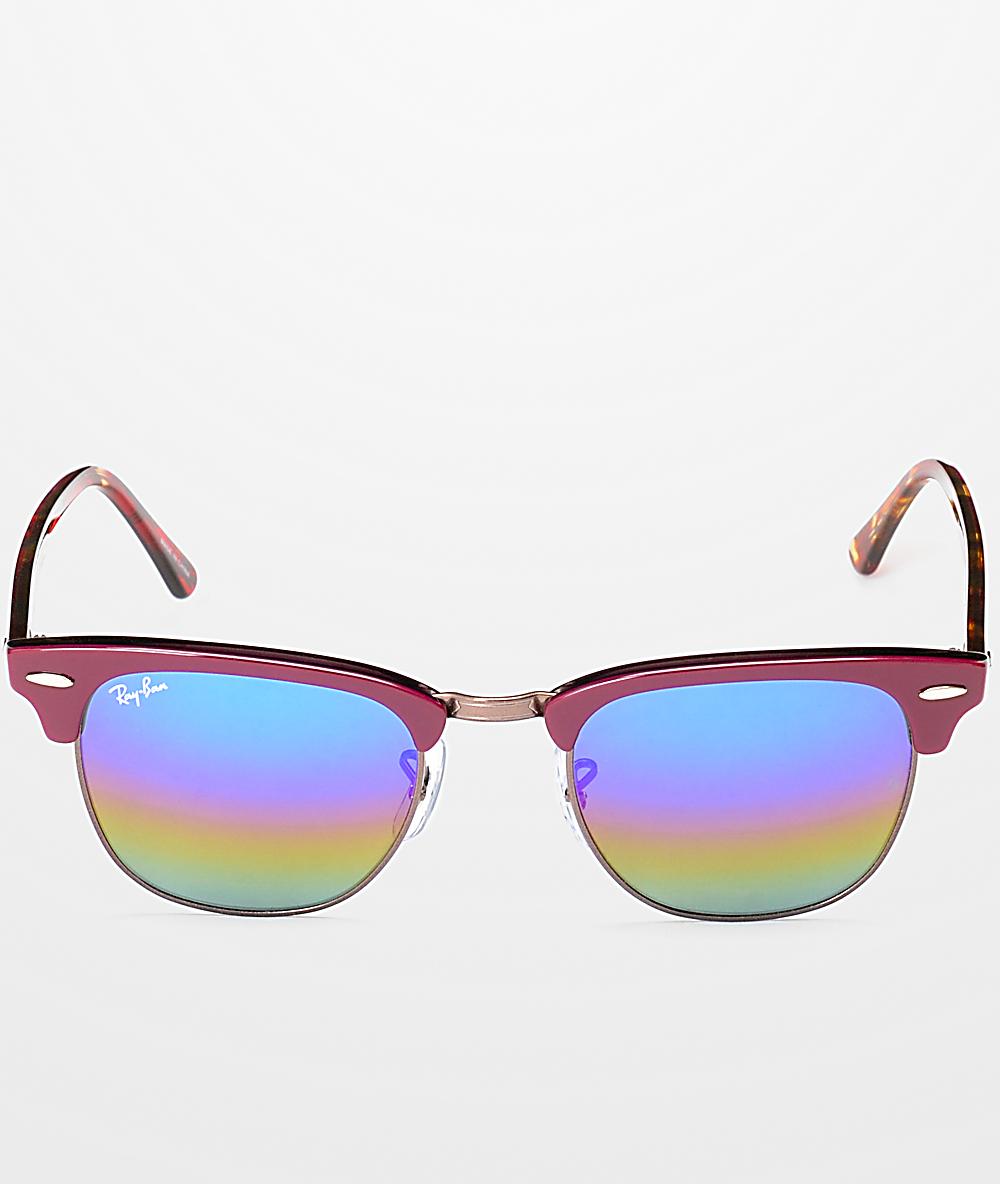 De Vino Ban Color En Ray Clubmaster Sol Gafas wTOuPkXiZ