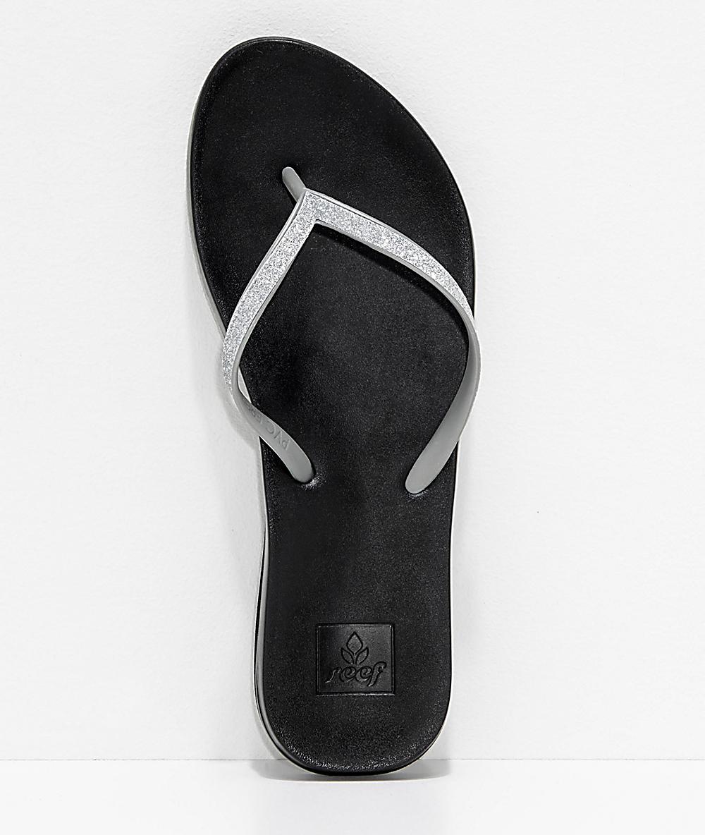 Reef Stargazer Cushion Bounce Silver Sandals
