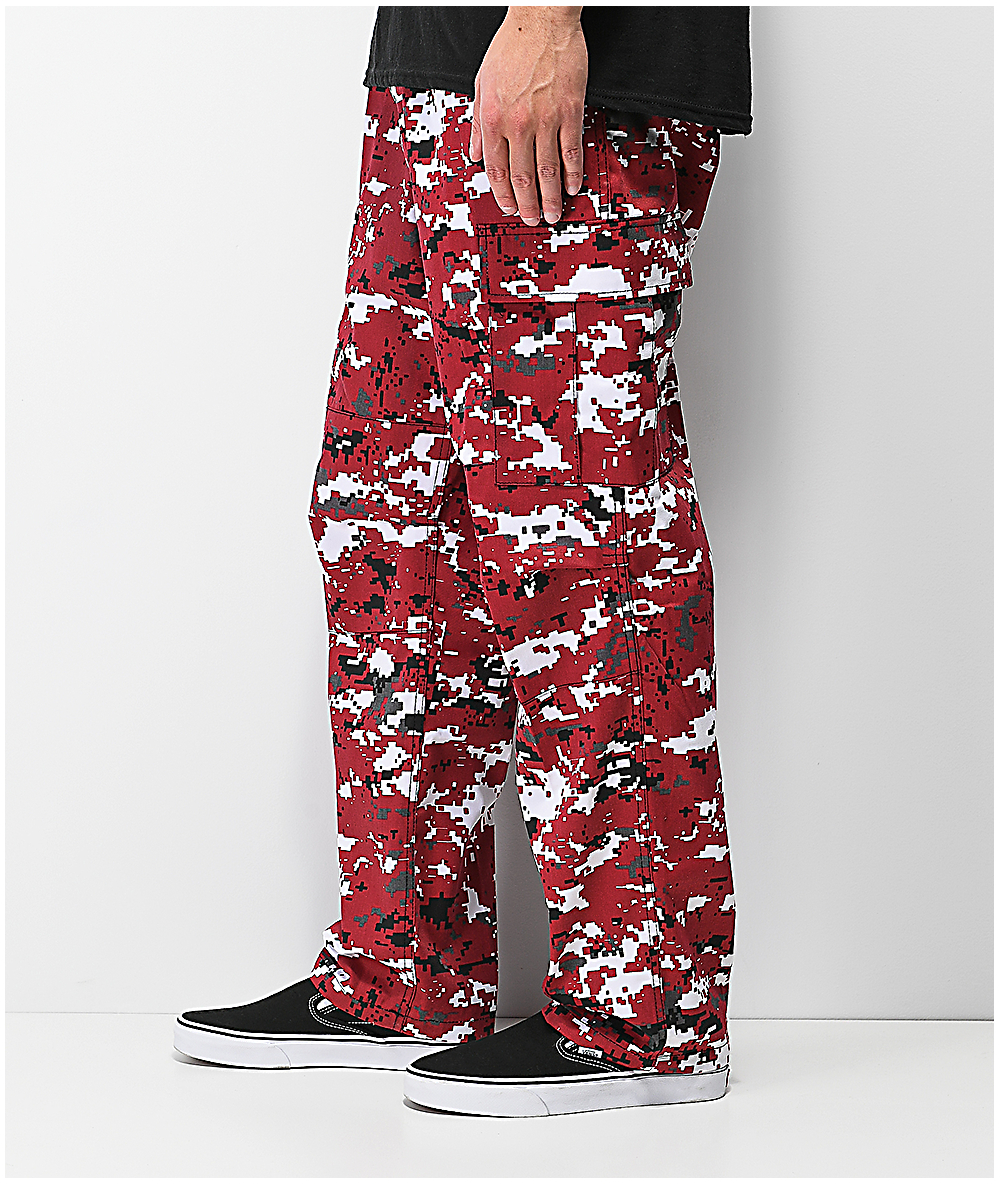 exclusive range reputation first top-rated original Rothco BDU Digi Red Camo Cargo Pants