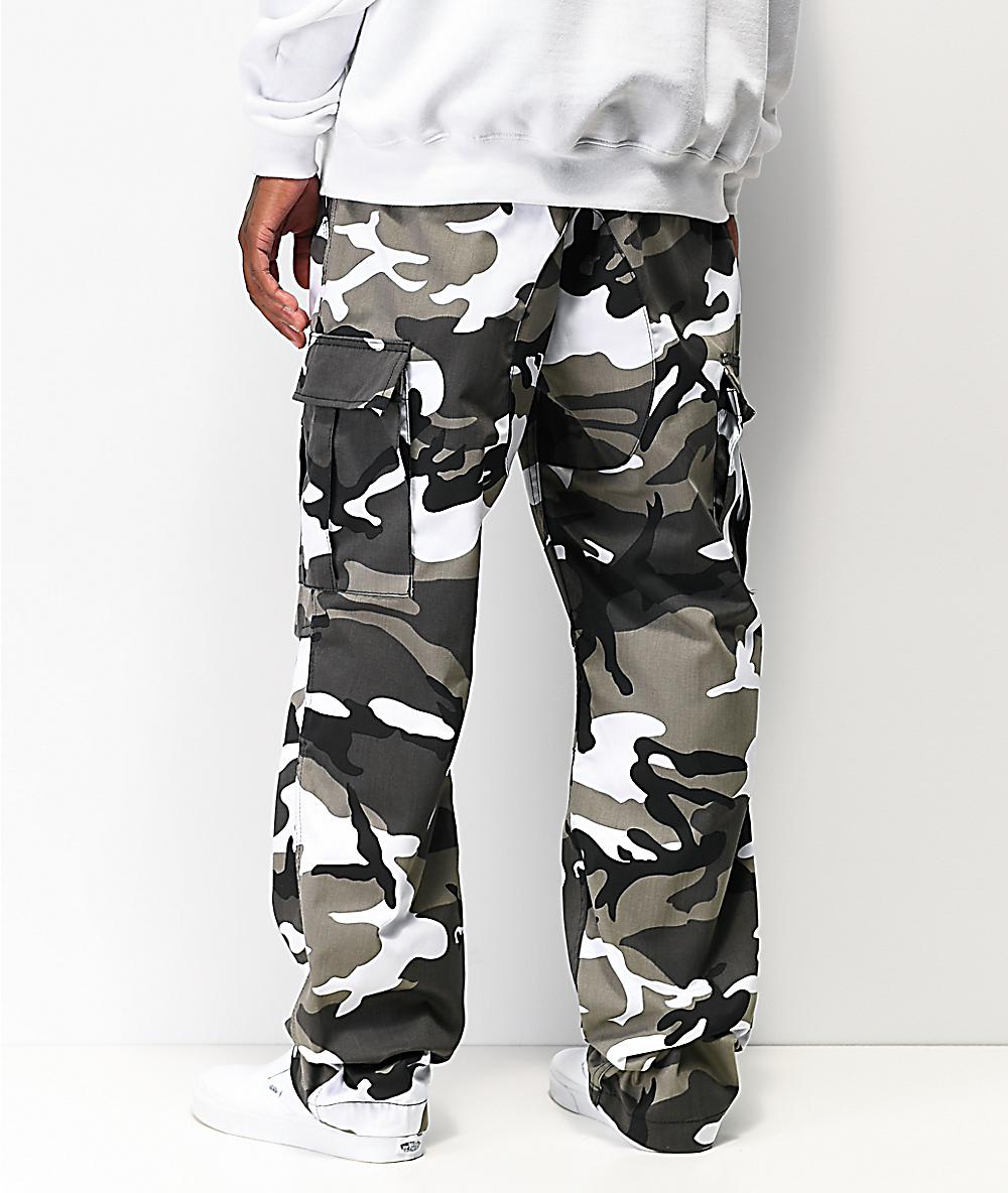 trouver le prix le plus bas beau look chaussures de course Rothco BDU Tactical City Camo Cargo Pants