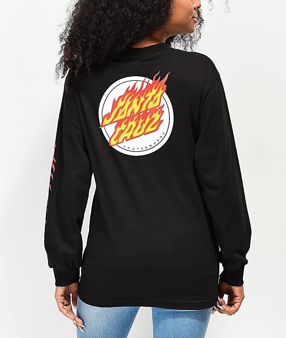 Santa Cruz Flaming Dot T-Shirt