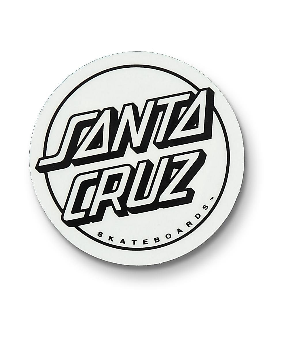 Santa Cruz Opus Dot Clear Black White