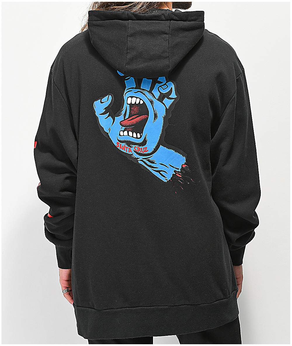 thirtytwo Men Stamped Hooded Pullover Black Size