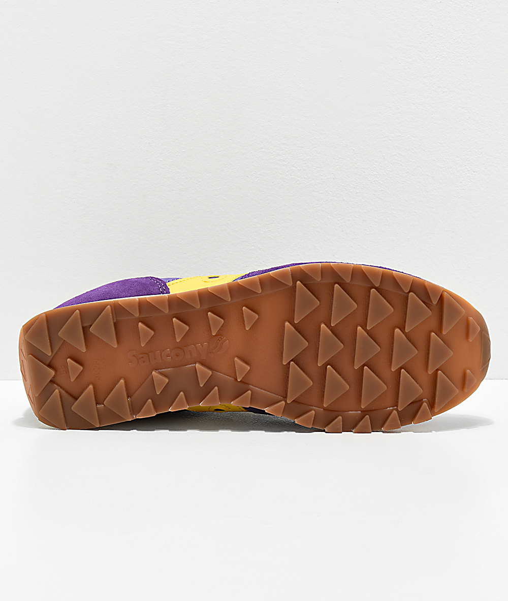 Saucony Originals Men's Jazz Original Climbing Sneaker, PurpleYellow, 10 M US