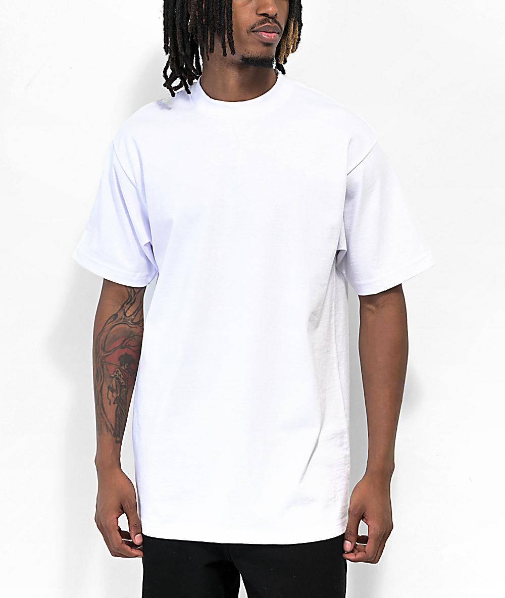 Shaka Wear Max Heavy White T-Shirt | Zumiez