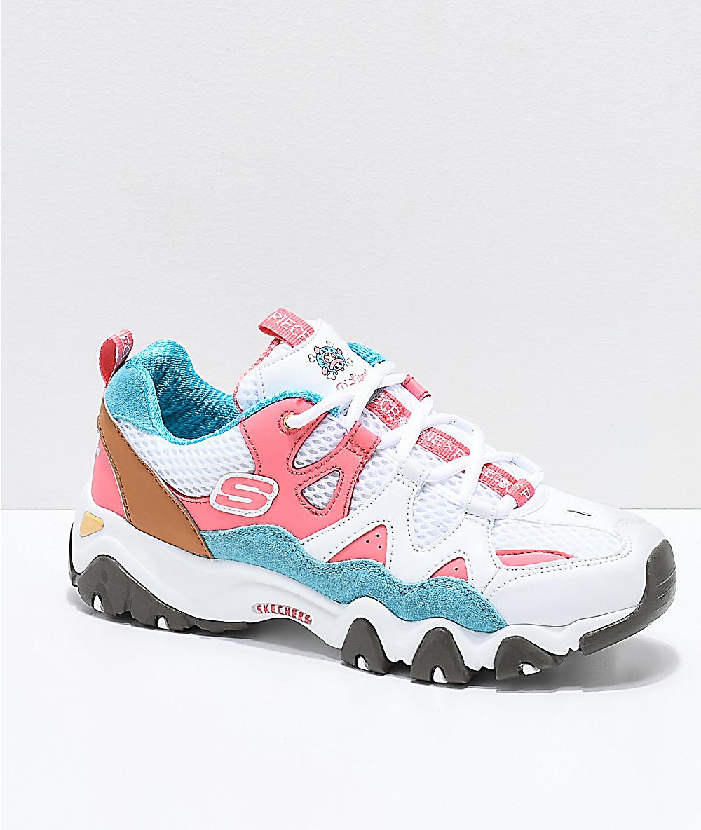 pink skechers