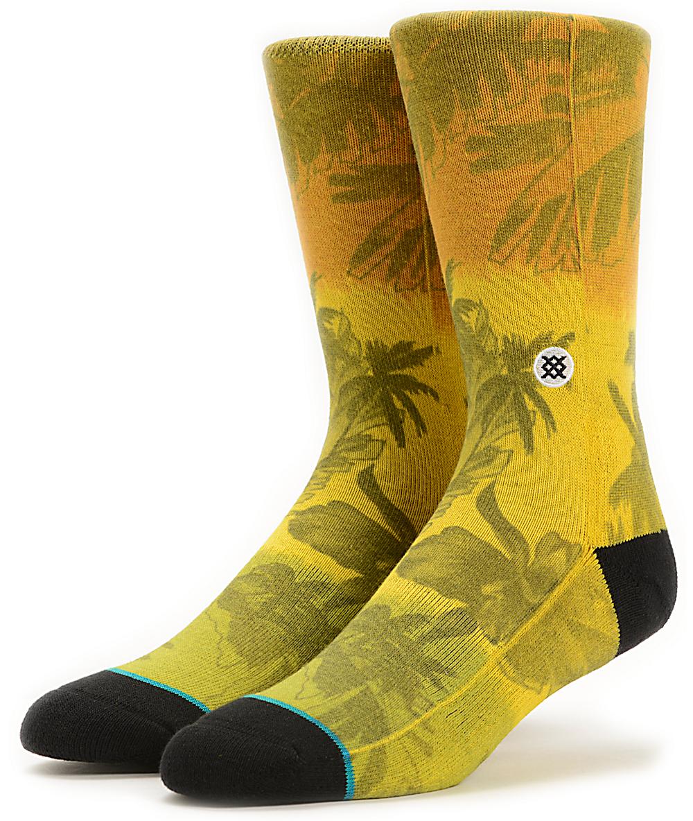 Stance Mens Jah Day Crew Sock