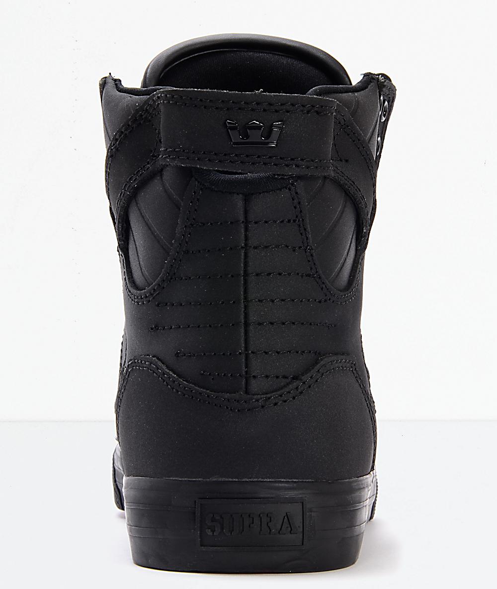 new styles e8461 b50dd Supra Skytop Red Carpet Edition Black Skate Shoes   Zumiez