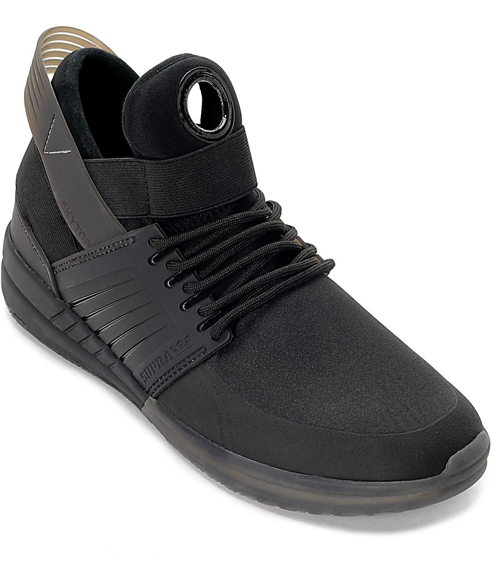 043eb3587ee2 Supra Skytop V Black Shoes | Zumiez