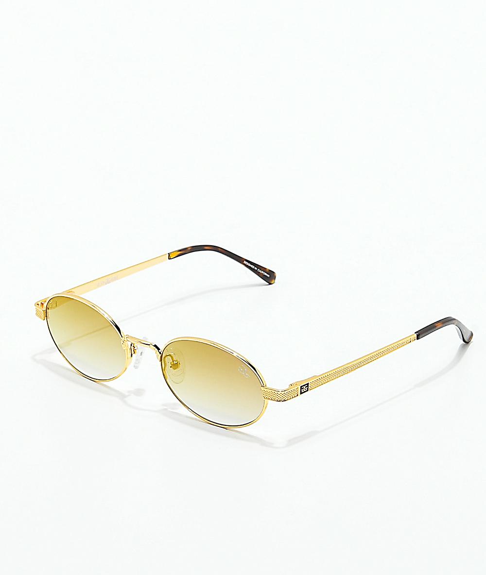 a9316af5d The Gold Gods The Ares Brown Gradient Sunglasses   Zumiez